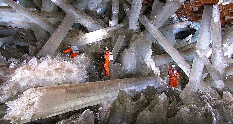 La cueva de los cristales Mexico