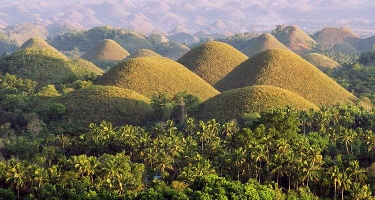 Las colinas de chocolate Filipinas