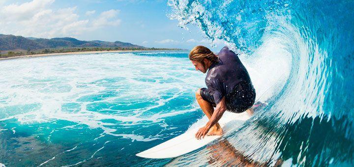 Ir a surfear en punta cana