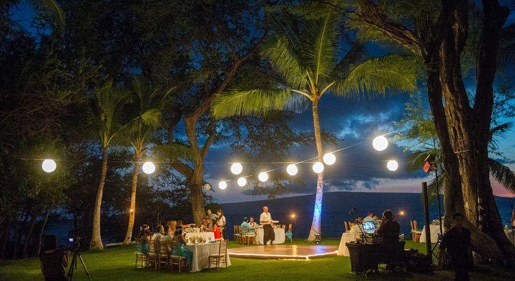 El sitio para la boda