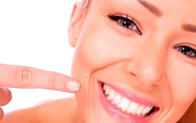 dientes blancos