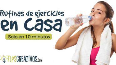 Rutinas de ejercicio en casa sin pesas