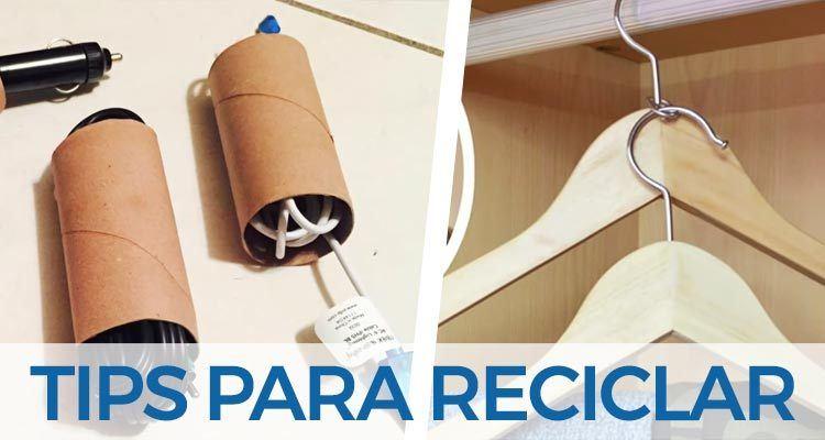 Consejos trucos e ideas para reciclar en tu hogar - Reciclar cosas para el hogar ...