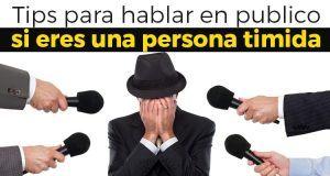 5 Tips indispensable para hablar en publico si eres una persona timida