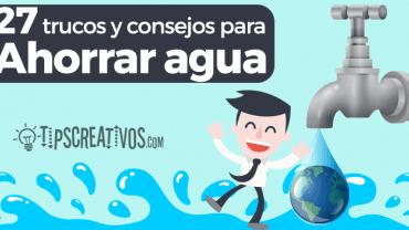 Tips y contenido relacionado con naturaleza - Como podemos ahorrar agua en casa ...