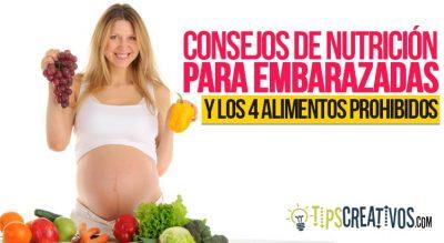 alimentos prohibidos para embarazadas