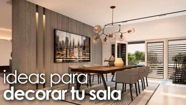 Ideas para decorar tu sala de estar