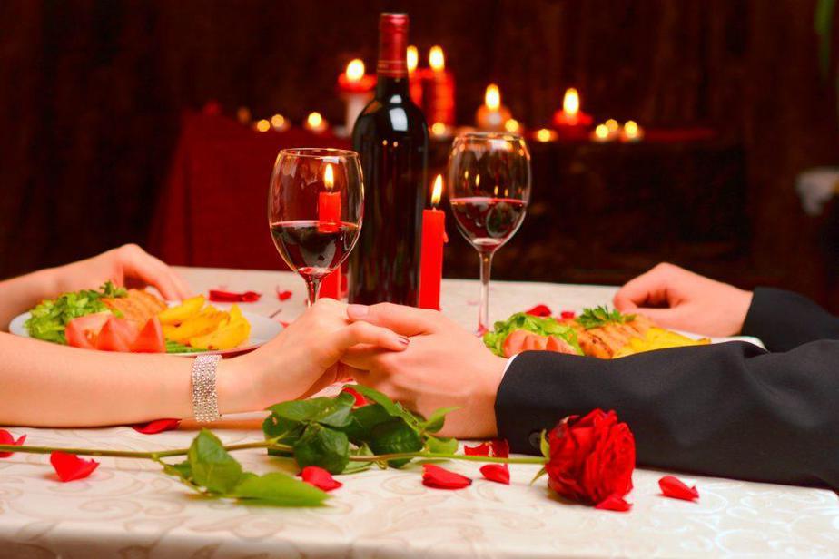 cena romántica para aniversario de bodas