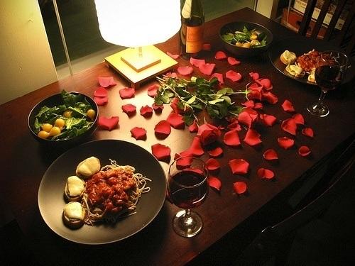 ideas cena en casa