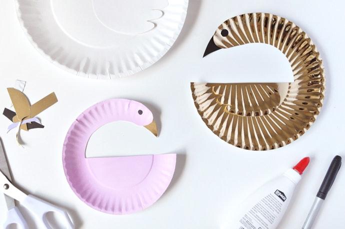 ideas para decorar con platos