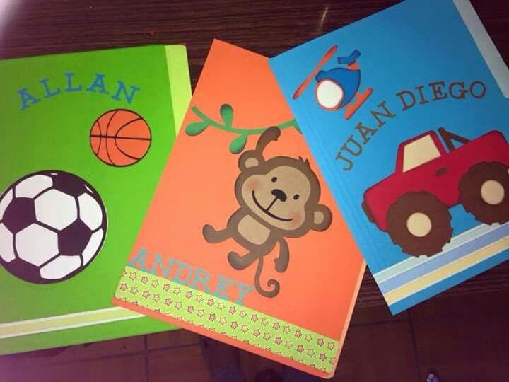 ideas para forrar cuadernos