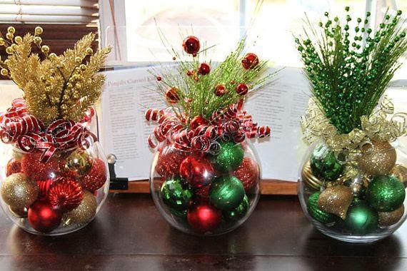 Adornos navideño para las mesas
