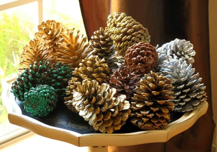 piñas de arbol para navidad