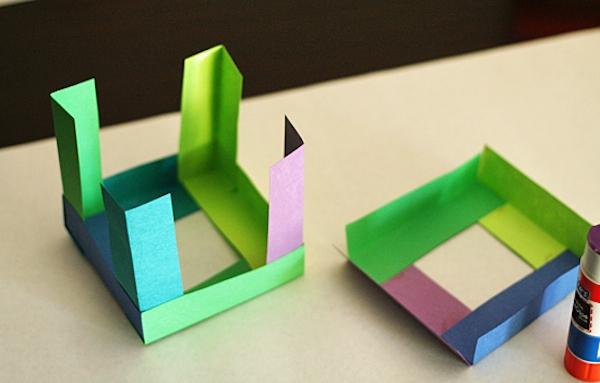 Elaboración de cubos