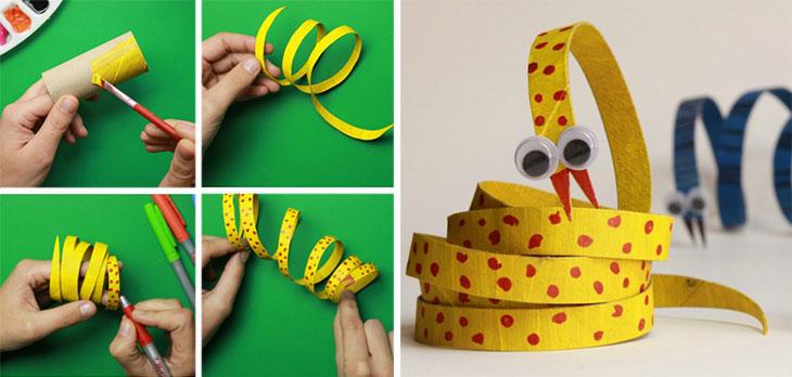 serpiente-con-rollos-de-papel