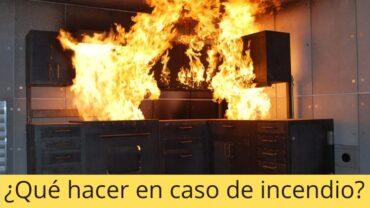 ¿ Que hacer en caso de incendio_