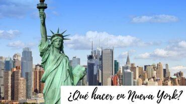 ¿Qué hacer en Nueva York_