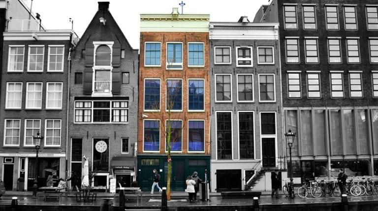 Casa de Ana Frank Amsterdan
