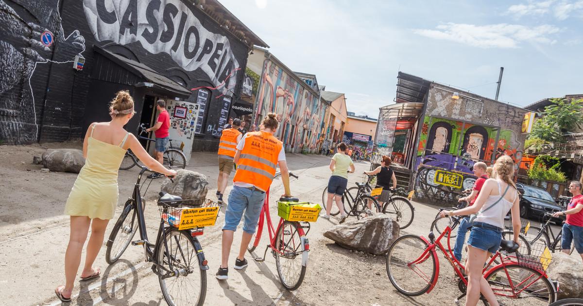 Conoce Berlin en bicicleta