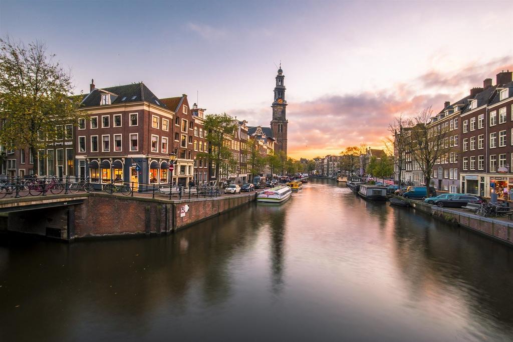 El canal Prinsengracht