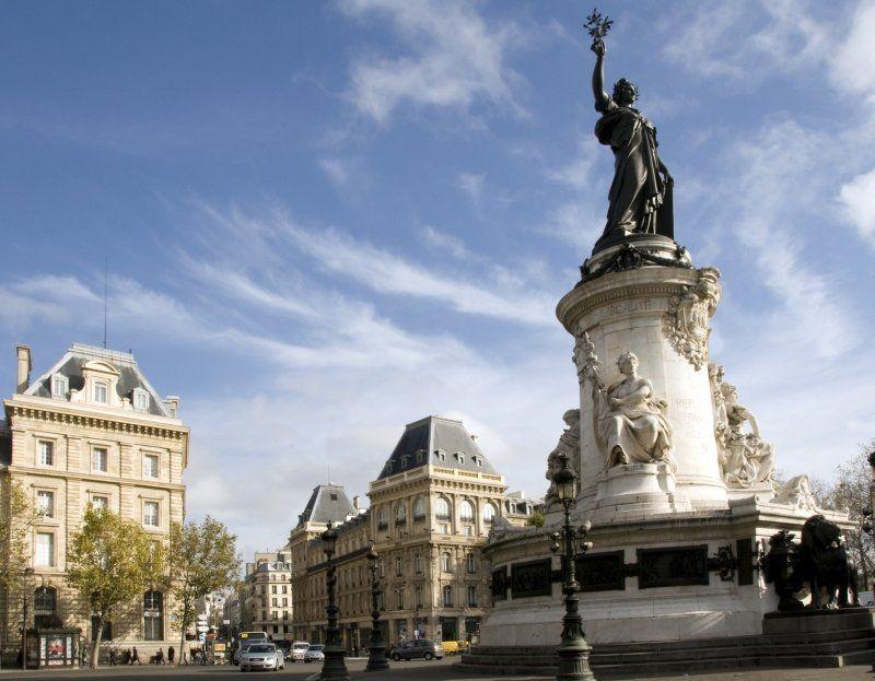 Plaza la republica