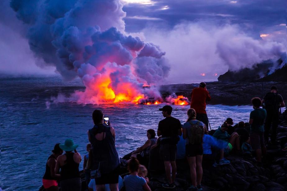 Big Island y sus volcanes activos