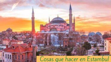 Cosas que hacer en Estambul