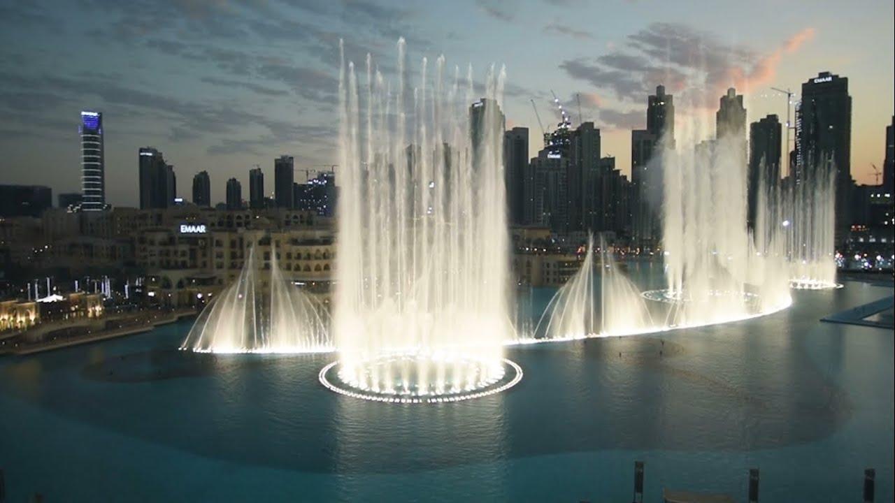 La Fuente de Dubái