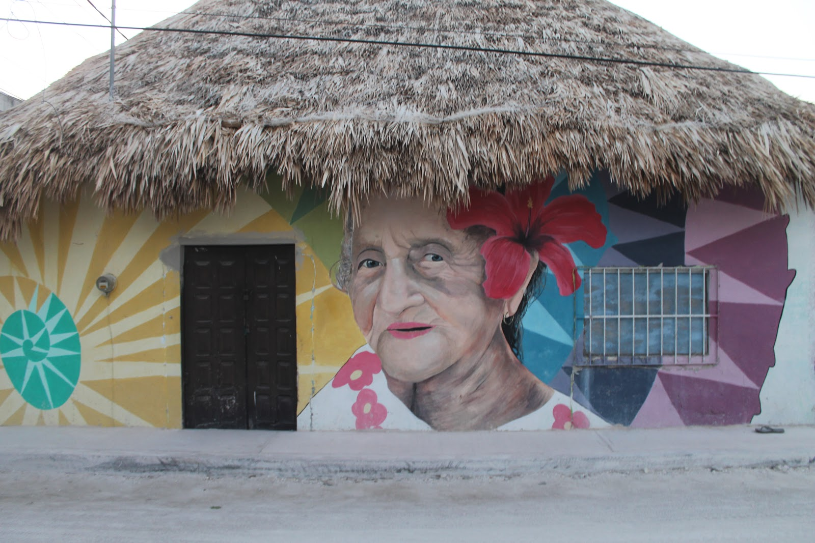 Los murales de Holbox