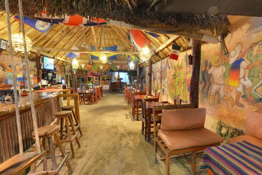 Restaurant Viva Zapata en Holbox