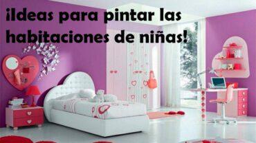 decorar pared habitaciones de niñas