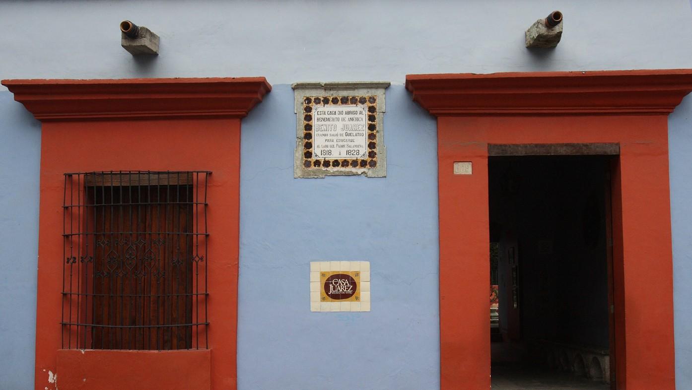 museo casa de Juárez en Oaxaca