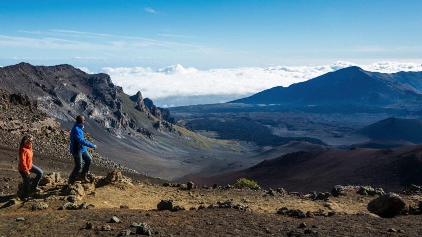 parque Nacional de Haleakala en la isla de Maui