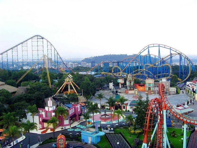 Parque de atracciones Six Flags America
