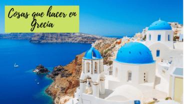 Cosas que hacer en Grecia