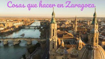 Cosas que hacer en Zaragoza