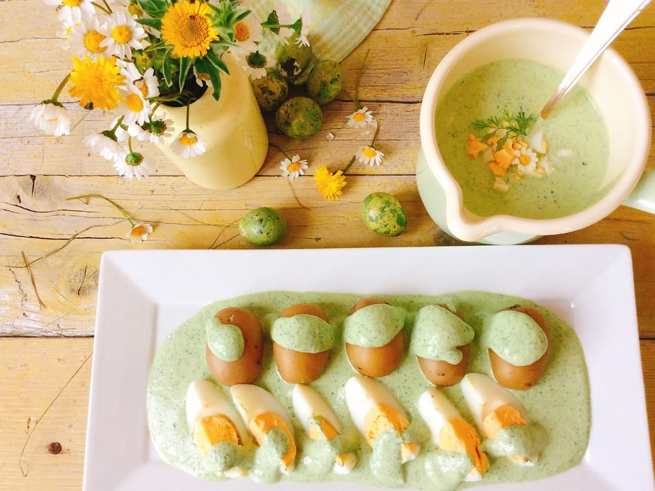 Grüne Soße o salsa verde