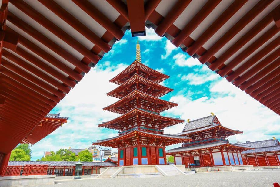 Templo de Shitennoji (Osaka)