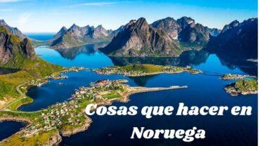 Cosas que hacer en Noruega