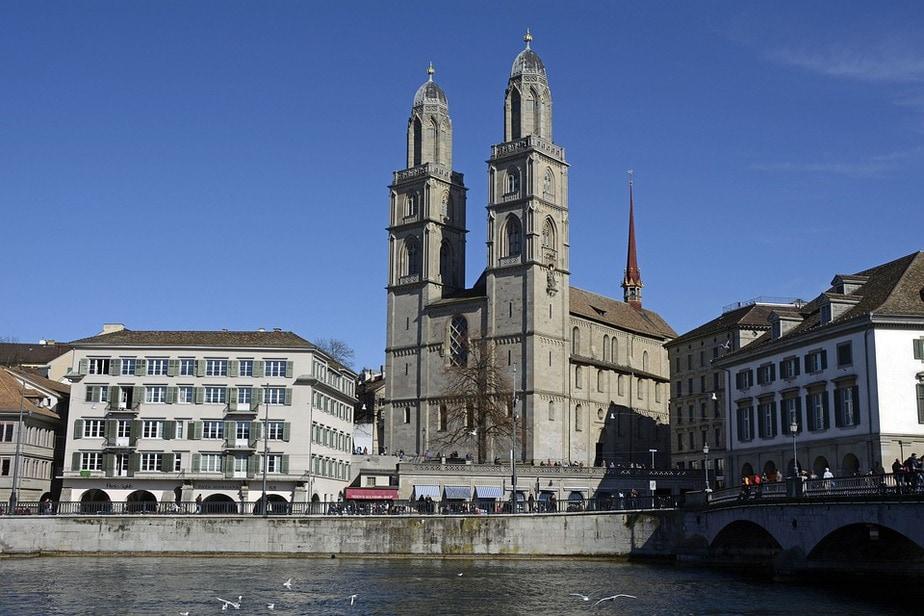 Iglesia de Grossmünster de Zúrich