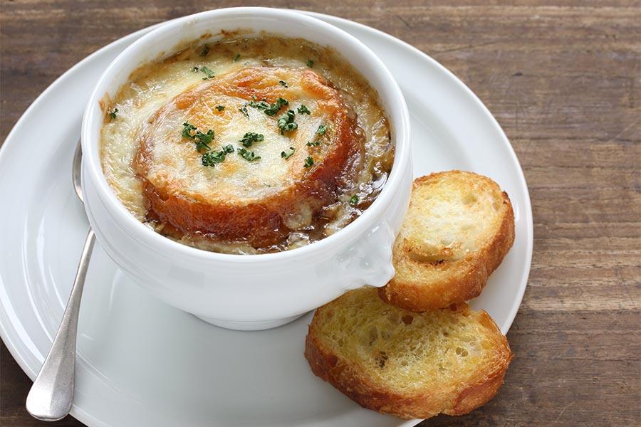 La soupe à l'oignons