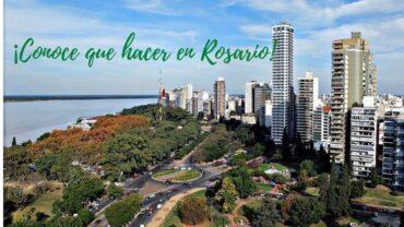 ¡Conoce que hacer en Rosario en ASRgentina!