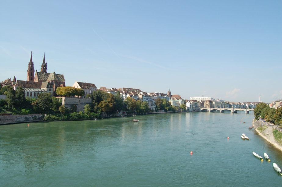 Navega por el río Rin