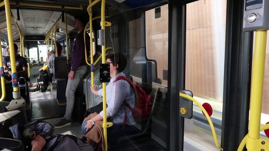 Autobús en Zagreb
