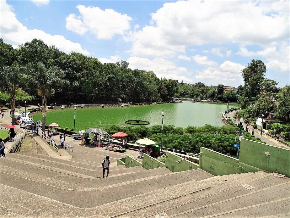 Paseo de los lagos en Xalapa