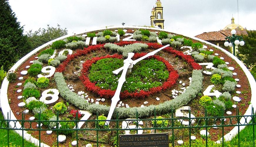 Reloj Floral