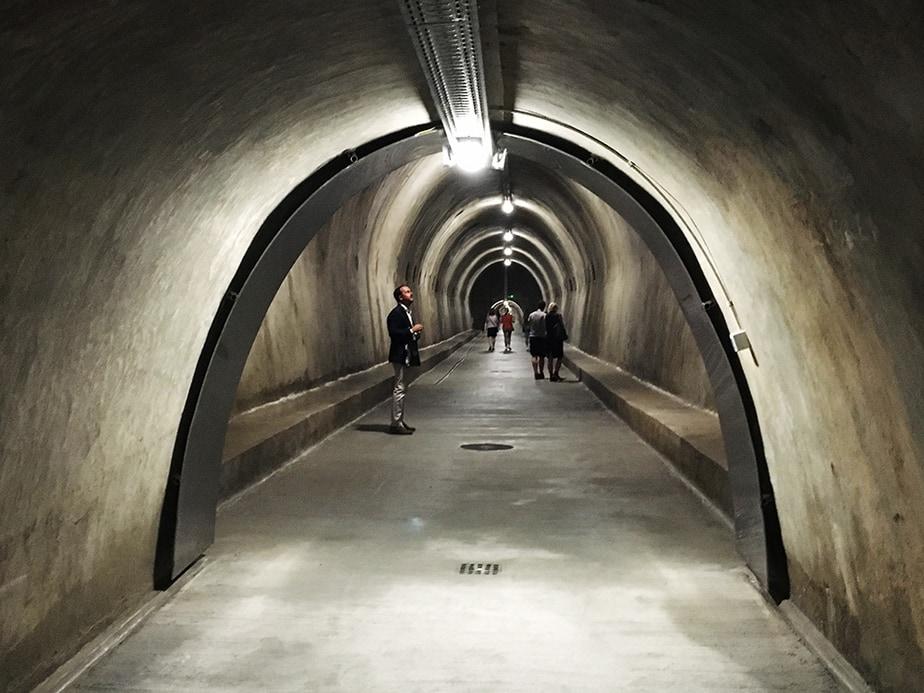 el túnel Gric